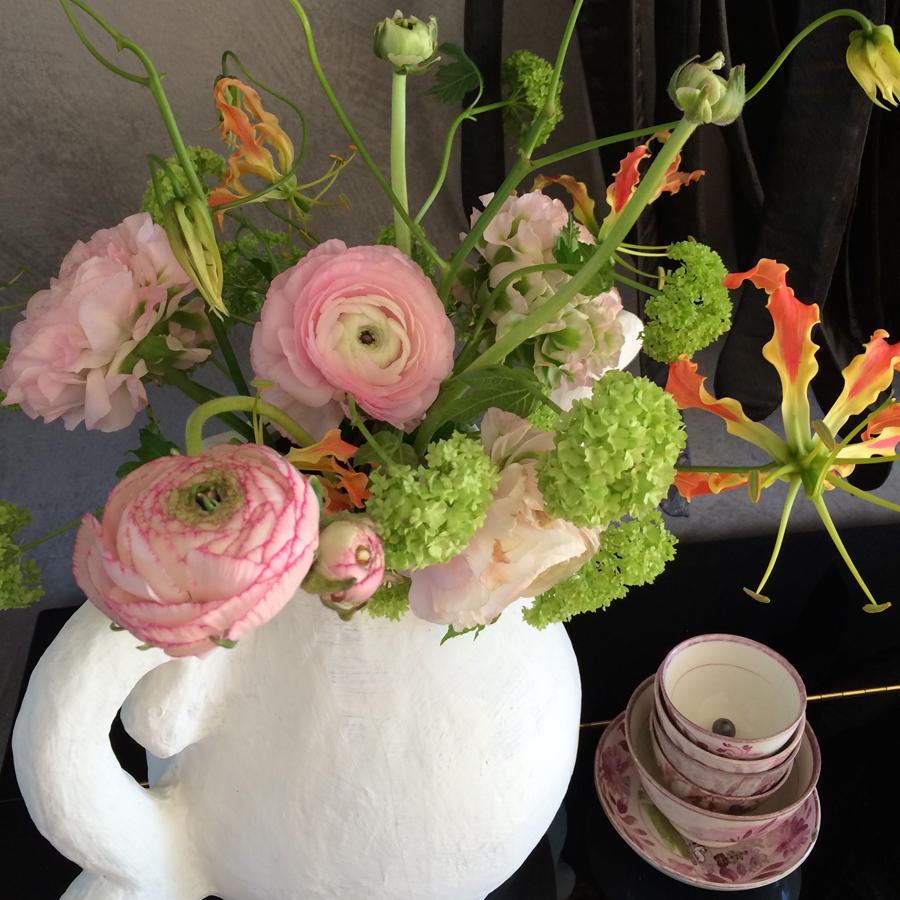 Bloemen in je huis | Koffie met ranonkels