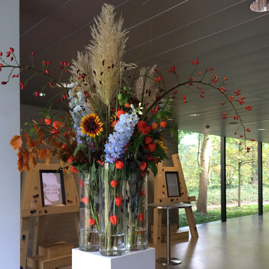 Bloemen en events | Kröller Müller Arrangement
