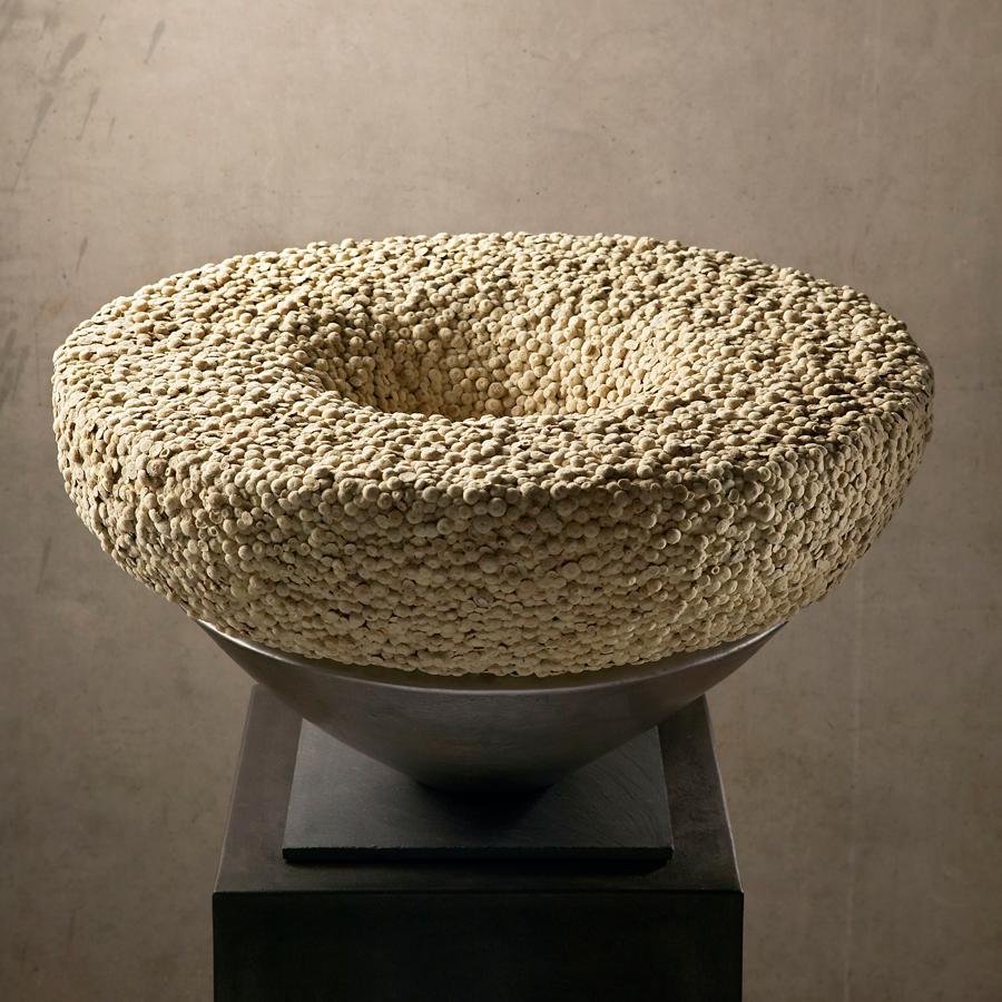 Interieurobject Krans van droogbloemen