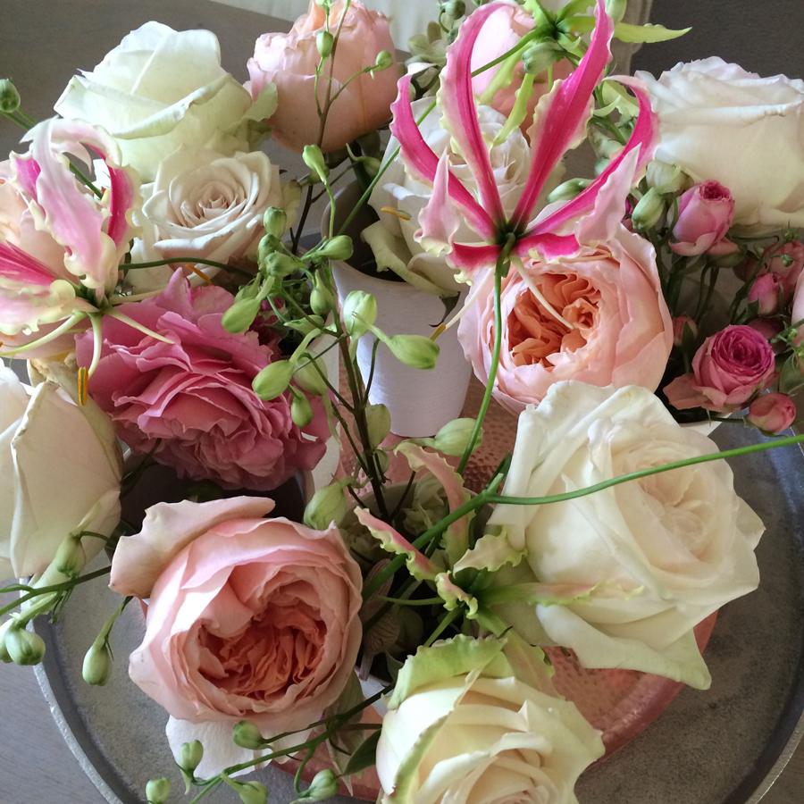 Bloemen in je huis | Rozen in pasteltinten - Bloemen in je huis