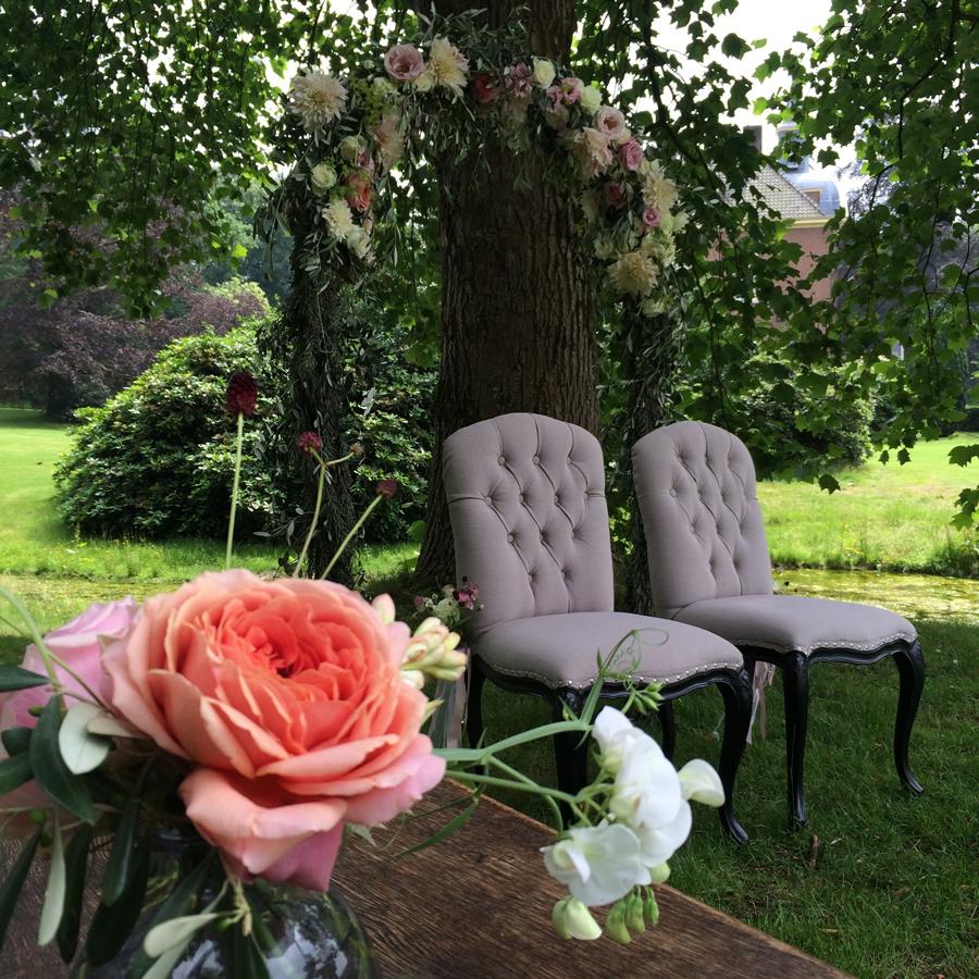 Tafeldecoratie op je trouwdag