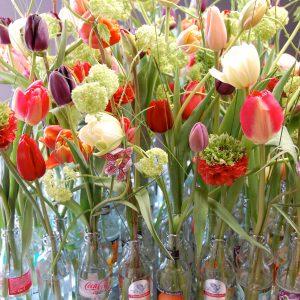 Voorjaarsarrangement flesjes