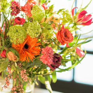 voorjaarsboeket in je bedrijf, bloemabonnementen van Julian Knol